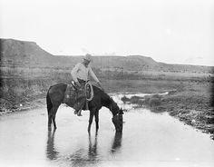 ❦ thirtymilesout:  Frank Smith Cross-B Ranch, Crosby County, Texas, ca. 1909