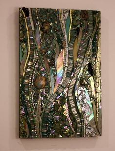 """Have you seen all the hand cut glass #mosaic art panels that have recently been added to my website?  Go here to see:  http://www.mosaicsbyariel.com. All rights reserved, Ariel Finelt Shoemaker, 2013.  For more about my work, go here:  http://www.mosaicsbyariel.com.  Measures 13"""" x 20""""."""
