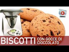 ▶ Video ricetta Bimby: Biscotti con Gocce di Cioccolato Bimby - YouTube