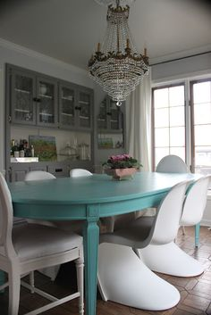 Tiffany Blue Home Decor Stunning Dining Room From My Best Friend Craig Not That S The