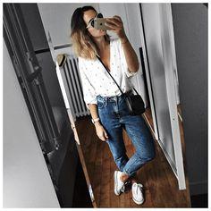 Audrey sur Instagram: Tenue d'hier en entier #photodumatin • Sunglasses…
