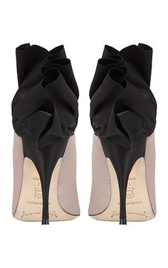 Karen Millen frill shoe...I would totally fall all over myself while wearing these,but LOVE!