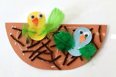 Bird and Nest Craft for Kids~ Buggy and Buddy