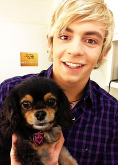 ITS ROSS AND A PUPPY YAY!