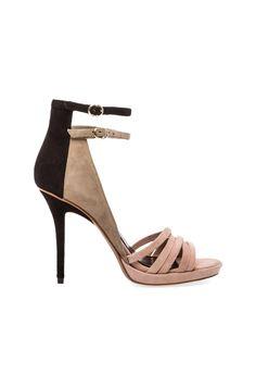 << 10 crosby derek lam jules heel {love the nudes + black mixed together} >>