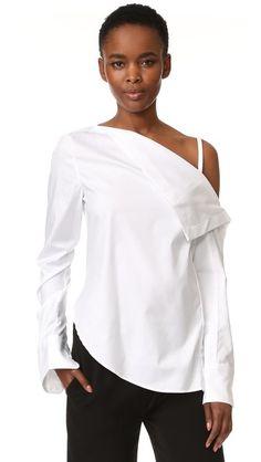 Dion Lee Long Sleeve Shirt | SHOPBOP