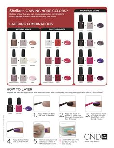 CND Shellac – NEW Nail Colour Layering Guides | The Plastic Diaries Beauty Blog