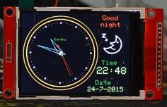 Arduino Analog clock with DS1307 : comments » Cee'z Blog