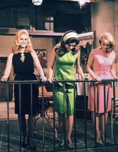 Ann-Margret, Pamela Tiffin, Carol Lynley; production still from Jean Negulesco's The Pleasure Seekers (1964)