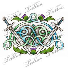 Marketplace Tattoo Scottish love #1041 | CreateMyTattoo.com