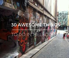Guide to the best things to do in Melbourne! This includes, Federation Square, visiting the MCG and St Kilda Beach among other great places in the city!