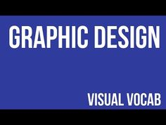 Graphic Design defined - From Goodbye-Art Academy - YouTube