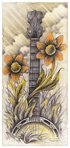 Brady Scott - Fine Art Banjo