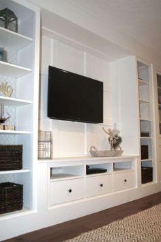 Image result for built in tv cabinet