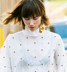 Street looks bijoux à la Fashion Week printemps-été 2017 de New York