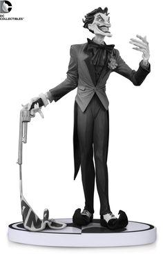 Pre-Order DC Comics Batman Black & White Jim Lee Joker V2 Statue