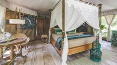 Sandat Glamping Tents | Bali, Indonesia. VIEWS: Forest, Garden, Meadow/Field | STYLE: Eco, Elegant, Glamorous, Italian. Photographer: SANDAT GLAMPING TENTS