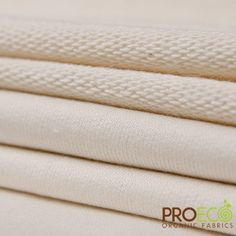 ProECO Organic Cotton French Terry Fabric