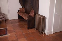 Peerless 'Carron' Cast Iron Radiator available from Ribble radiators: www.ribbleradiators.co.uk Modern Properties, Cast Iron Fireplace, Cast Iron Radiators, Architectural Antiques, Modern Rugs, Vintage Designs, Classic Style, It Cast