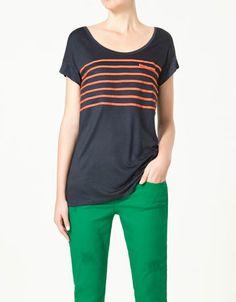 Striped shirt from Zara