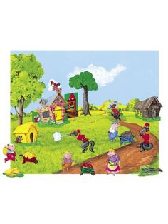 The Three Pigs Flannel Board/Felt Story and Playboard set (figures, story board and case) ** Be sure to check out this awesome product.