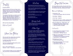 out of town guest bag welcome letter template - Google Search
