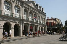 The Cabildo - Tues-Sun 9-5  The Cabildo is one of the most historically significant buildings in America & showcases the rich and colorful history of New Orleans and Louisiana. more than 1,000 artifacts and original works of art...go to Music floor.