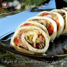 Sfoglia di mozzarella con tonno e pomodori-ricetta estiva-golosofia