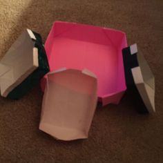 Origami boxes.