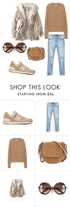 """""""Untitled #231"""" by dr-azzko ❤ liked on Polyvore featuring New Balance, Zara, H&M, rag & bone, women's clothing, women, female, woman, misses and juniors"""