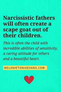 Learn all about narcissistic fathers and how they behave in this video. Discover what effect they have on their children and the dynamics of a dysfunctional family. Narcissistic Children, Narcissistic People, Narcissistic Mother, Narcissistic Abuse Recovery, Narcissistic Behavior, Narcissistic Personality Disorder, Children Of Narcissists, Narcissist And Empath, Narcissist Father