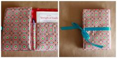 YW Personal Progress Book Holders by Cranial Hiccups, via Flickr  I WANT THIS FOR DEVOTIONS