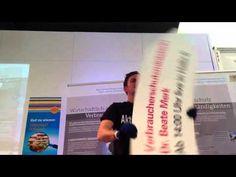 SignSpin wirbt für Beate Merk am ZLF 2012