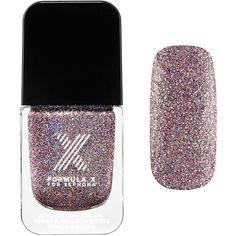 Formula X Brilliants ($13) ❤ liked on Polyvore featuring beauty products, nail care, nail polish, nails and formula x nail polish