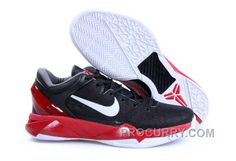 outlet store c678a db757 Nike Zoom Kobe Vii Mens Black Red. Shoes ...