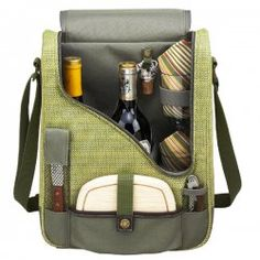 Olive & tweed double #wine & cheese carrier #winelover #wineaccessories
