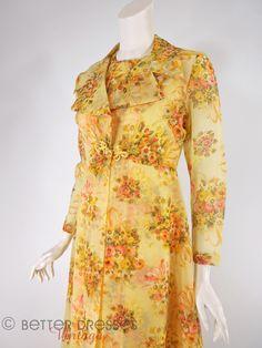 70s Hostess Dress Set - sm