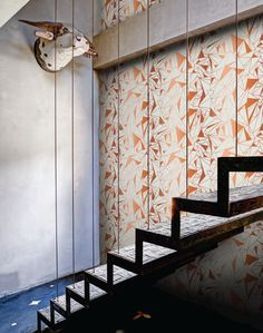 Luxurious modern wallpaper by Scandinavian design company, FEATHR, is now available at The Pattern Collective