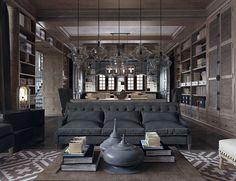 ~ Living a Beautiful Life ~ Architectural Visualisation — missarchitettura:     Chateau Margaux byAnya...