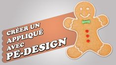 Créer un appliqué avec PE-Design Machine A Broder Brother, Pe Design, Design Youtube, Brother Embroidery Machine, Applique, Gingerbread Cookies, Embroidery Stitches, Make It Yourself, Aide