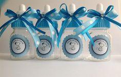Snoopy bebé botellas - favores de la ducha de bebé