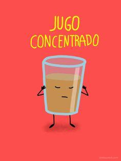 jugo concentradisimo... Ooooommmmmmm