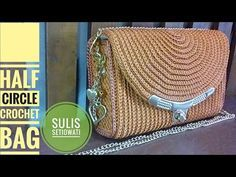 Crochet Bag/backpack English subtitle Step by step how to crochet a backpack - YouTube