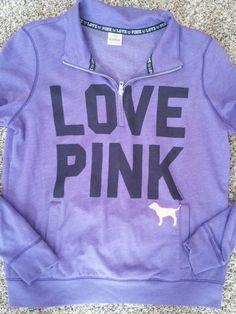 Victoria secret pink sweatshirt sz L