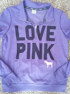 Victoria secret pink sweatshirt sz L
