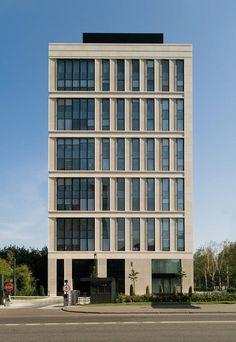 Office Building On Leninsky / Sergey Tchoban   Sergey Kuznetsov