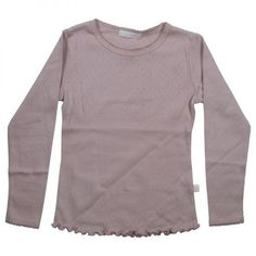 T-Shirt with lovely details in the fabric. Danish designed fashion for kids.