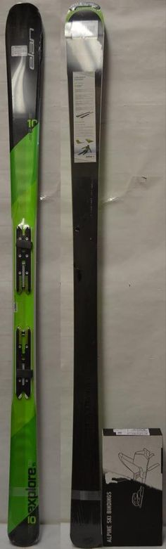 Skis 42814: 16 17 Elan Explore 10 Ti Men S Skis - 176 Cm W Bindings *New* -> BUY IT NOW ONLY: $249.95 on eBay!