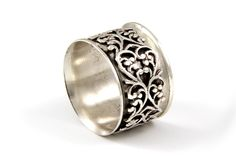 "The Pattern Spinner via Etsy at heartisticsilver $65  9/16""wide"