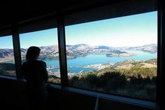 Christchurch's Lyttelton Harbor viewed from the Gondola Harbor View, South Island, Buy Tickets, Victorious, New Zealand, Fun Facts, Places To Visit, Interesting Facts, Funny Facts